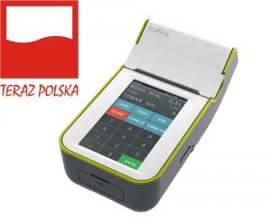 Kasa Fiskalna Elzab K10 3K biało-zielona